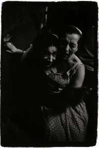 Benjamin Lifson - Untitled (2 Women Hugging)