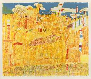 Carmen Cicero - Landscape with Airplane