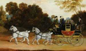 John Cordrey - -The Wellington Coach' (The Newcastle York London Mail)