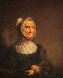 William Yellowlees - The Artist's Mother, Isabella Newton (1753–1825), Mrs John Yellowlees