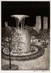 Edward Timothy Hurley - Electrical Fountain, Chicago Fair, 1934