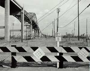 Grant Mudford - From Terminal Island, Looking East, from the Long Beach Documentary Survey Project