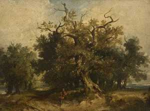 James Hall Cranstoun - Wooded Landscape