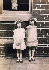 John Frank Keith - Two Girls, Kensington, Philadelphia