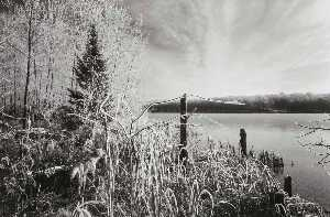 Order Museum Quality Copies | Early Winter Landscape, Wisconsin, 1981 by Joseph D Jachna | WahooArt.com