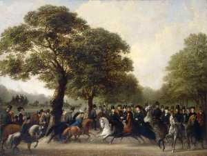 Edward Hargitt - Riding in Hyde Park, London