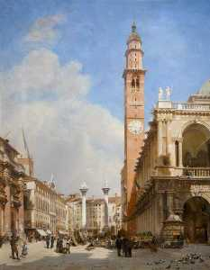 John O'connor - The Market Place, Vicenza