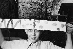 Mark Cohen - Paper Hat, from an untitled portfolio