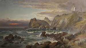 William Gibbons - Coastal Scene