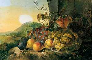 Thomas Whittle - Still Life with Fruit by a Window