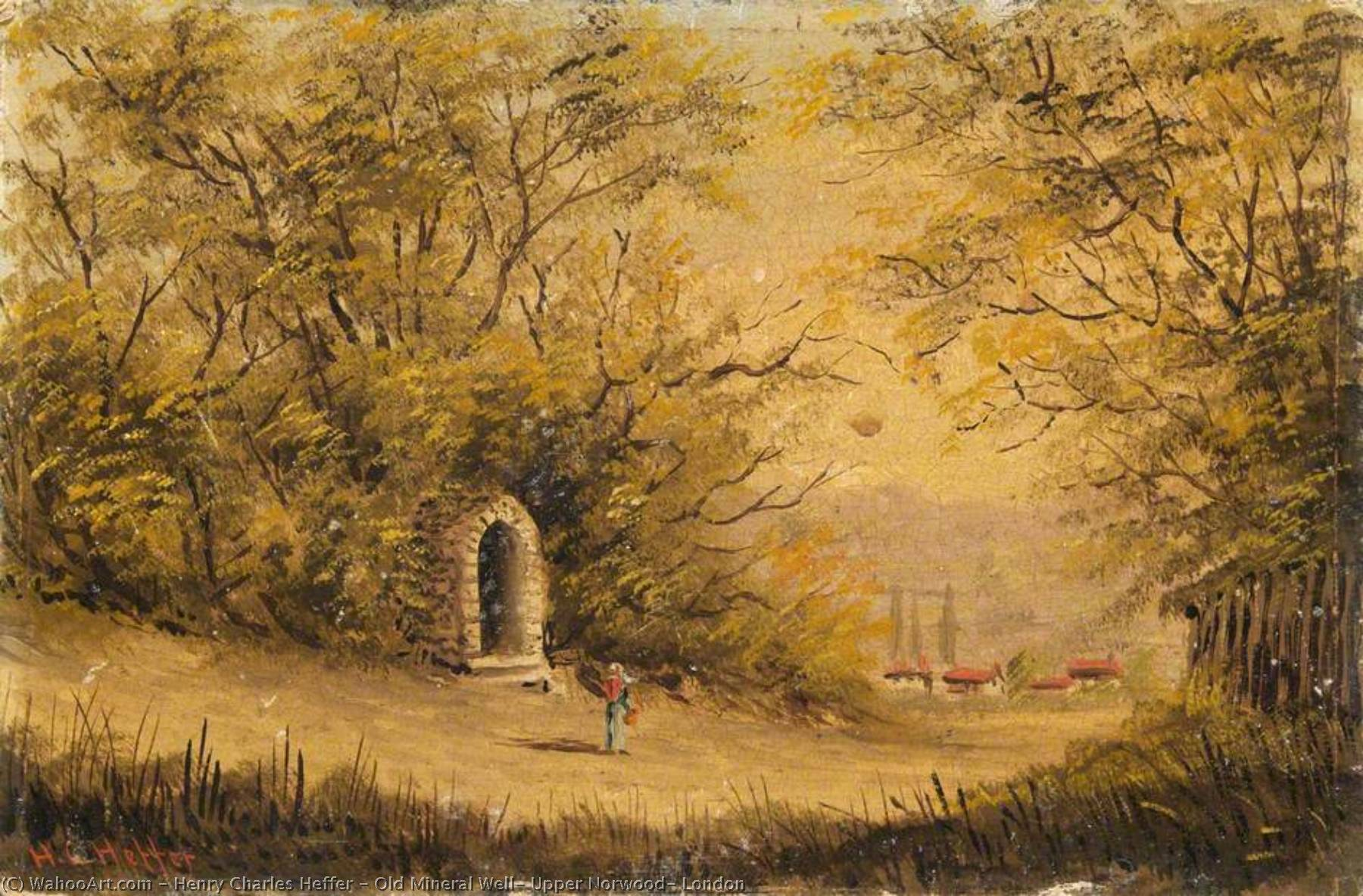 Old Mineral Well, Upper Norwood, London by Henry Charles Heffer | Art Reproduction | WahooArt.com