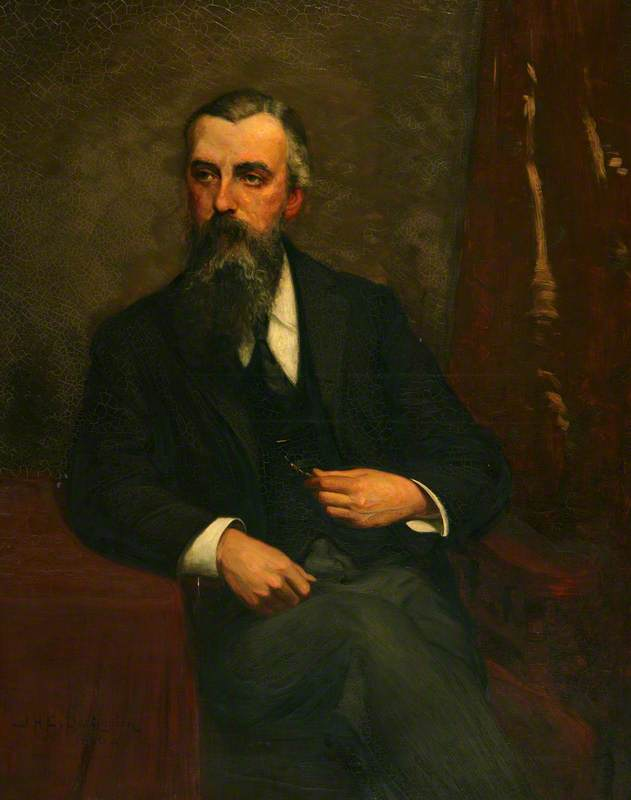 William Alfred Turner, Oil On Canvas by John Herbert Evelyn Partington