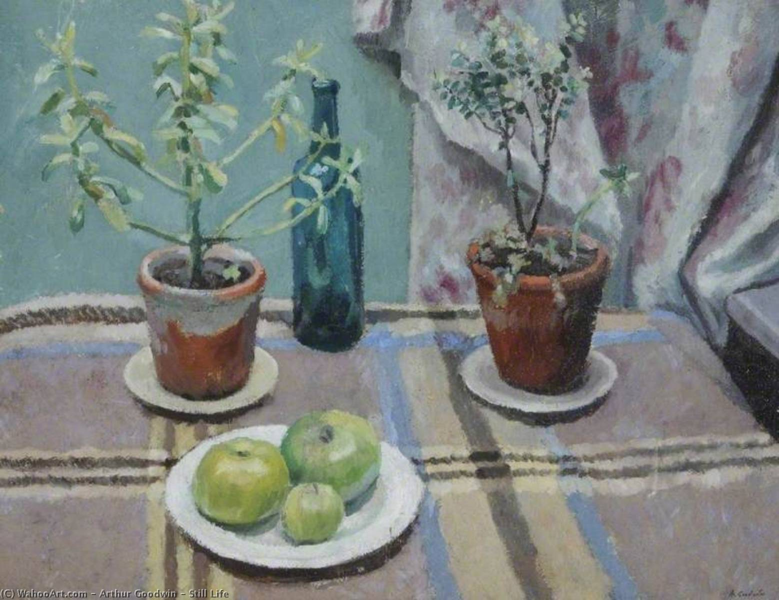 Still Life by Arthur Goodwin | Paintings Reproductions Arthur Goodwin | WahooArt.com
