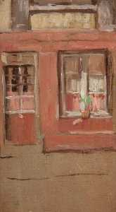 Buy Museum Art Reproductions | The Front Window, 1897 by Arthur Studd | WahooArt.com