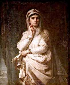 Thomas Francis Dicksee - Ideal Portrait of Lady Macbeth