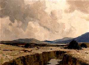 James Humbert Craig - Lierfin Bog, County Donegal
