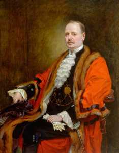 John Hodgson Campbell - The Right Honourable Arthur Munro Sutherland (1867–1953), JP, Lord Mayor of Newcastle upon Tyne (1918–1919)