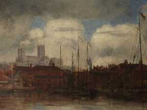 Bernard Sickert - Lincoln Cathedral