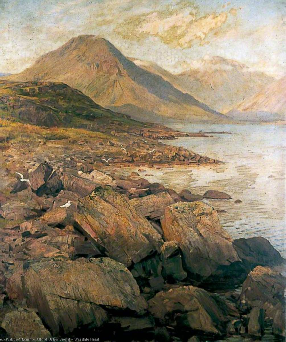 Wasdale Head, Oil On Canvas by Alford Usher Soord