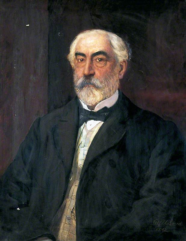 Anthony Buckle (1838–1900), 1892 by Alford Usher Soord | Museum Quality Reproductions | WahooArt.com