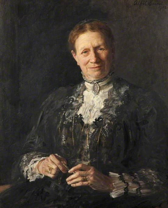 Mrs Wilson, 1913 by Alford Usher Soord | Museum Art Reproductions Alford Usher Soord | WahooArt.com