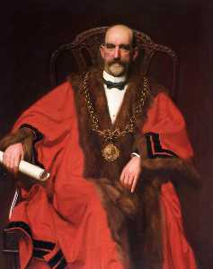 John Frederick Harrison Dutton - Robert Lamb, Mayor of Chester (1903–1905)