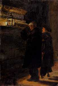 John Everett Millais - Greenwich Pensioners At The Tomb Of Nelson
