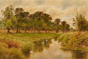 Frederick Milner - Bend of the Ravensbourne