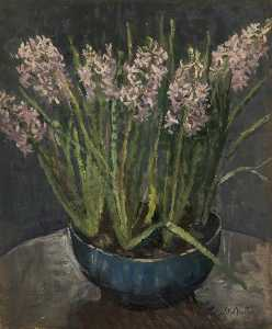 Mary Ethel Hunter - Hyacinths