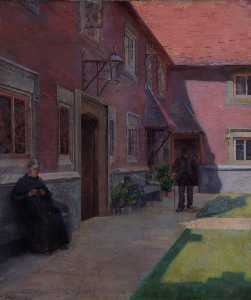 John Burall Read - Whitgift Almshouse, Croydon, Surrey