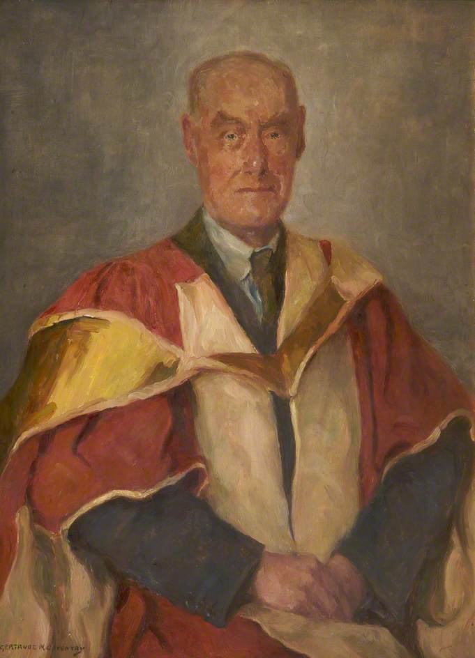 Norman Smith, Oil On Canvas by Gertrude Mary Coventry