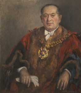 Gertrude Mary Coventry - Alderman Leslie Lever (1905–1977), Lord Mayor of Manchester