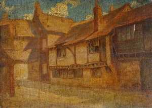 Francis Colmer - 'The King's Head' Inn, High Wycombe, Buckinghamshire