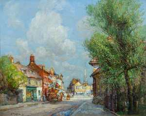 William Watt Milne - The Broadway, St Ives, Cambridgeshire