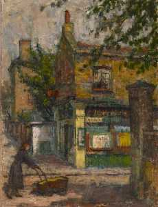 Order Reproductions | The Tobacconist by Kalman Kemeny | WahooArt.com