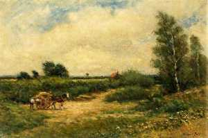 Arthur George Bell - Country Scene