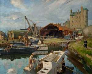 Francis Patrick Martin - Maryhill Dock, Forth and Clyde Canal