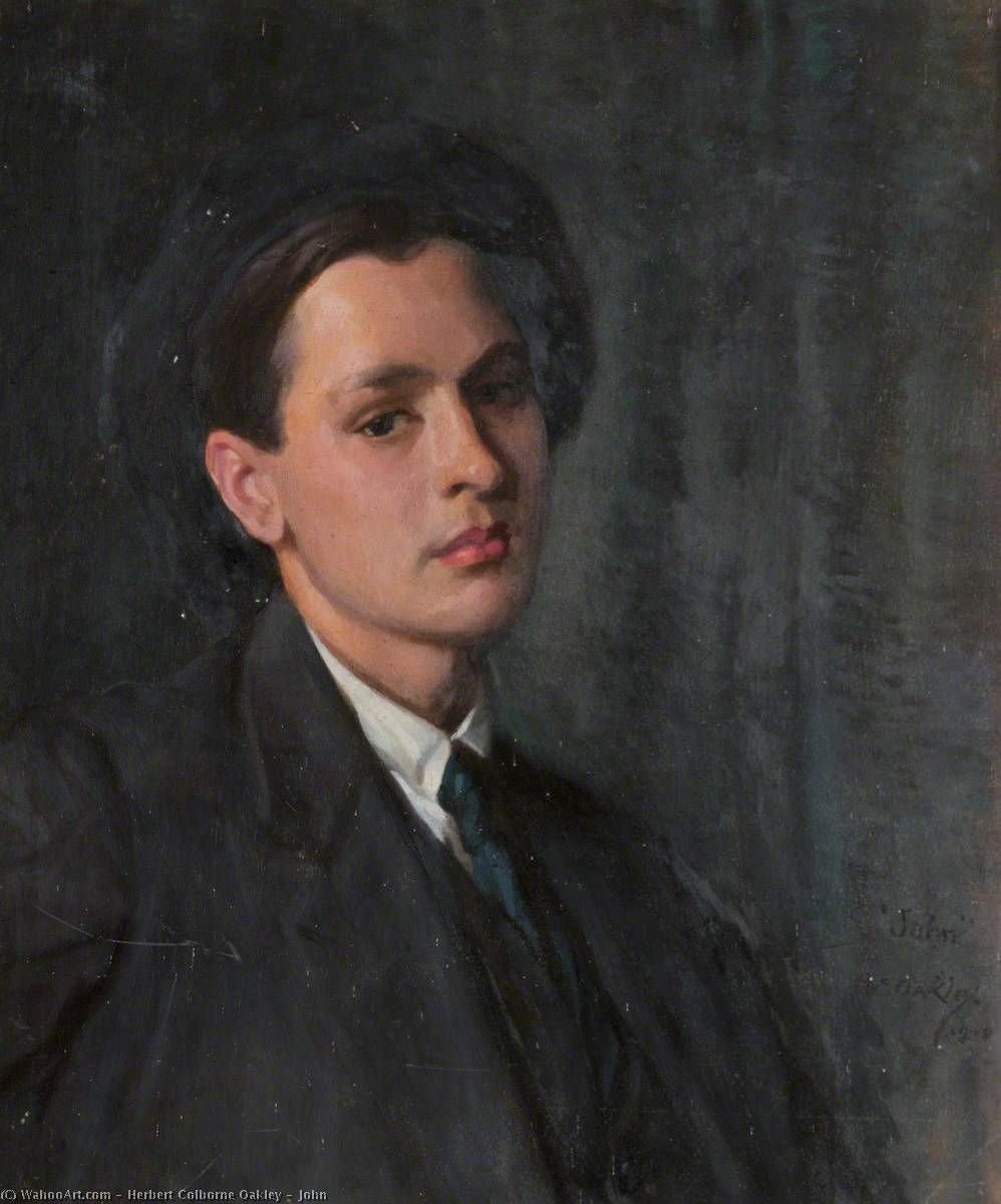 John, 1928 by Herbert Colborne Oakley | Museum Quality Reproductions | WahooArt.com