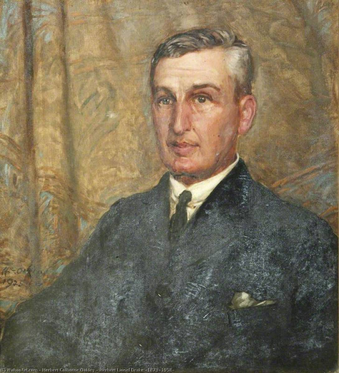 Herbert Lionel Drake (1873–1958), Oil On Canvas by Herbert Colborne Oakley