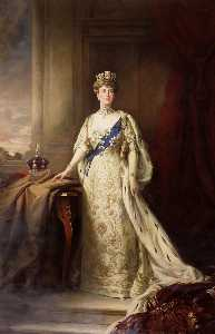 Henry Macbeth Raeburn - Mary of Teck (1867–1953), Queen Consort of King George V (copy after Samuel William Henry Llewellyn)