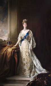 Henry Macbeth Raeburn - Queen Mary (1867–1953), Consort to George V (after William Samuel Henry Llewellyn)