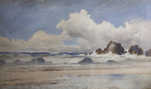 Frederick John Widgery - Devon Seascape