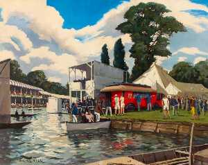 Adrian Keith Graham Hill - Mobile Post Office, Henley