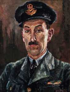 Elva Joan Blacker - Portrait of an RAF Officer