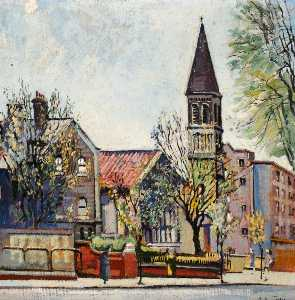 Albert Edward Turpin - St James the Less Church, Bethnal Green
