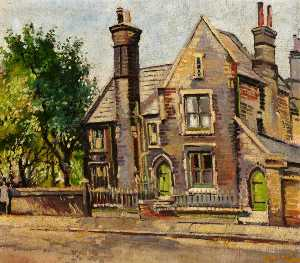 Albert Edward Turpin - The School House, Bethnal Green