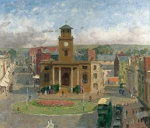 Charles Alfred Morris - The Old Town Hall