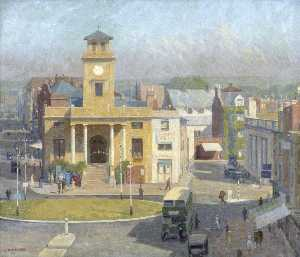Charles Alfred Morris - Old Town Hall, Worthing, West Sussex