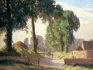 Charles Alfred Morris - Lambley's Lane, Sompting