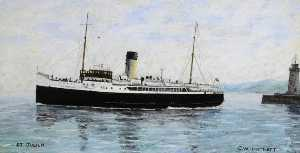 Charles William Hartnett - Steamship -St Julien-, Built 1925 (Glasgow)